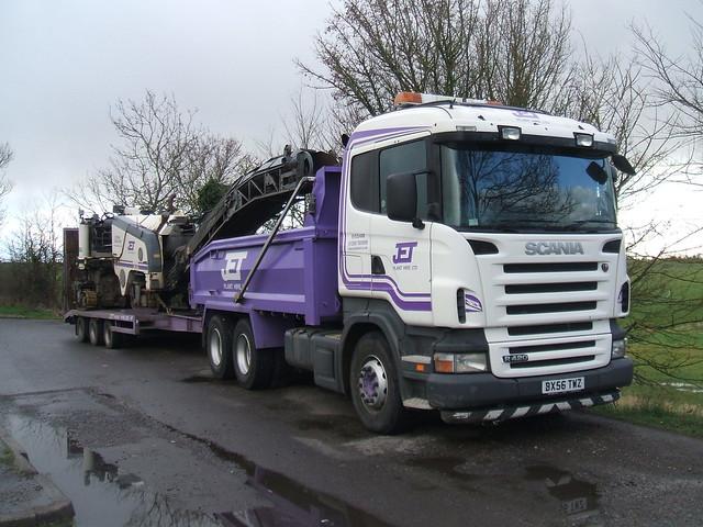 Scania R420 - Jet Plant Hire Ltd
