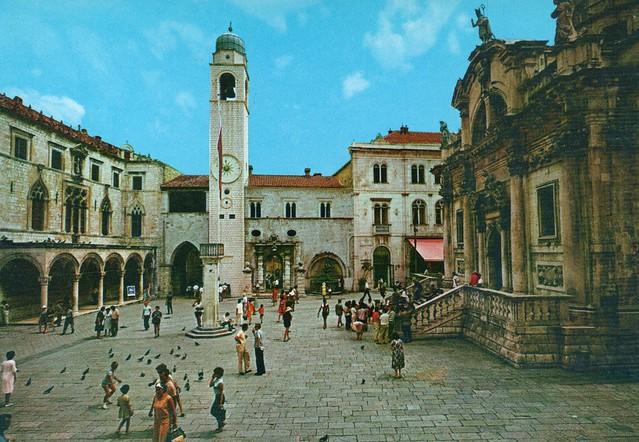 Croatia - Dubrovnik (Sponza Palace and St. Vlaho Church)