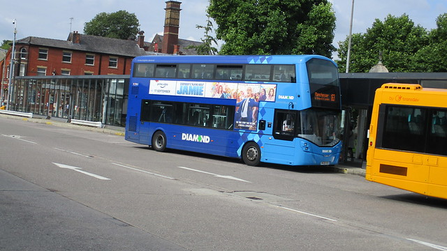 Diamond North West Bus 40724 - MX20 KXO at Bury Interchange