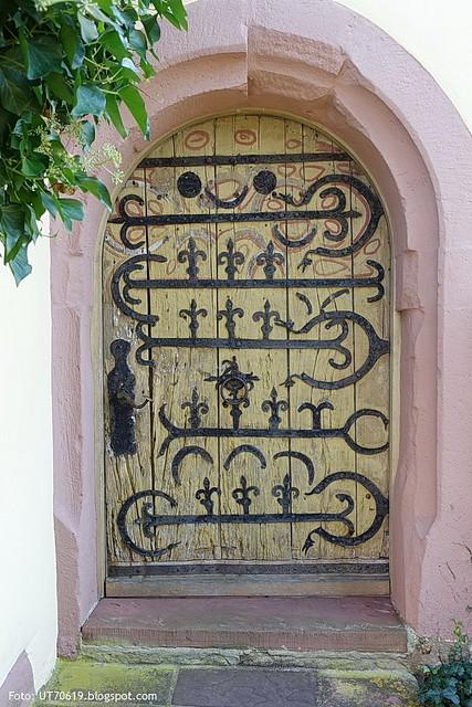 mittelalterliche Tür