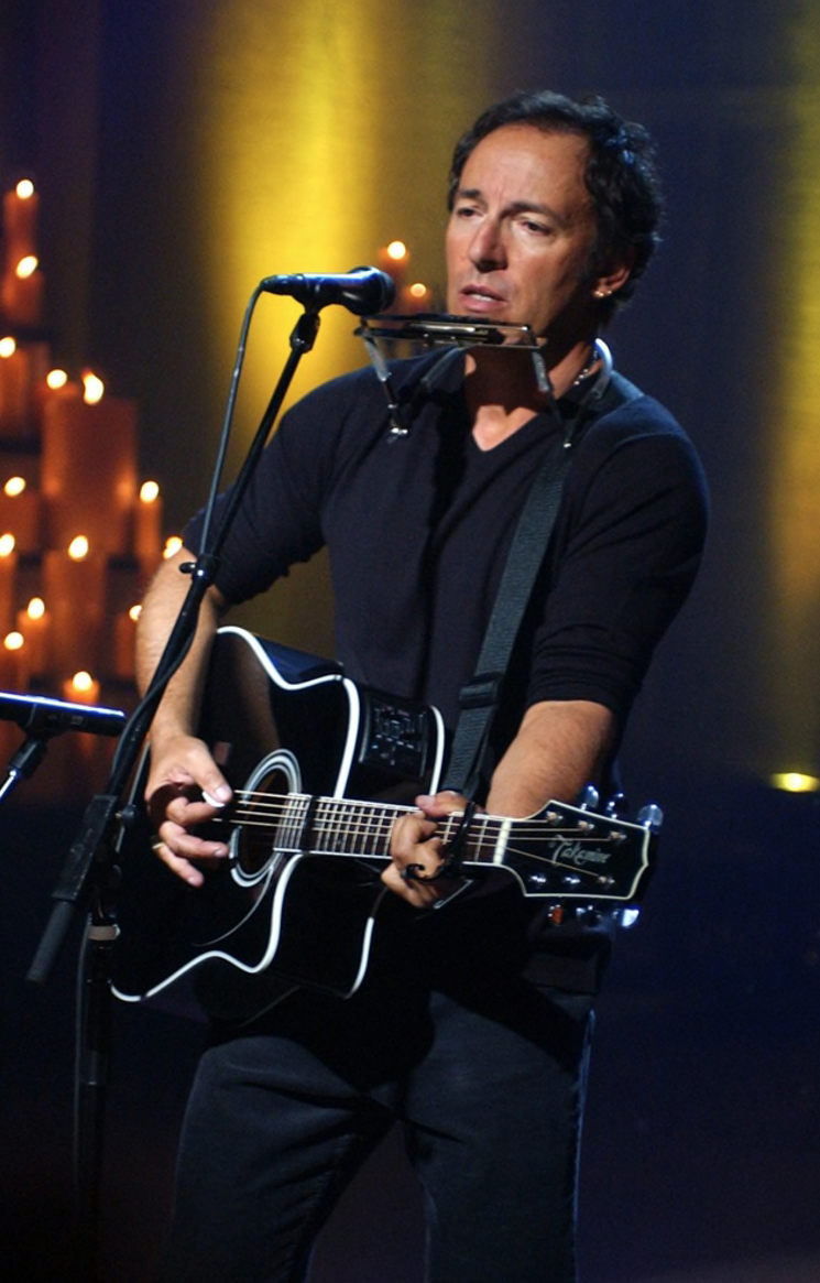 Bruce Springsteen America Tribute to Heroes