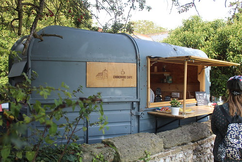 Churchside cafe - second horsebox cafe of the day