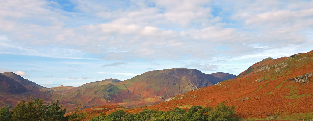 LAKELAND - The view from Newlands Pass