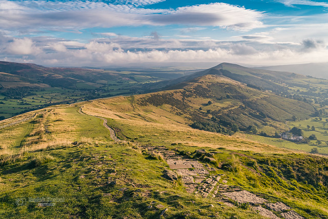 Back Tor and Lose Hill seen from Mam Tor