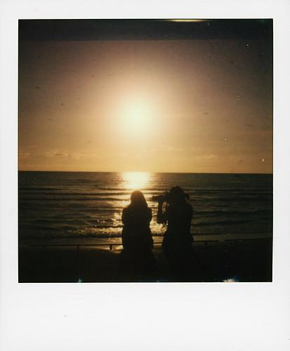 Coucher de soleil, Biarritz