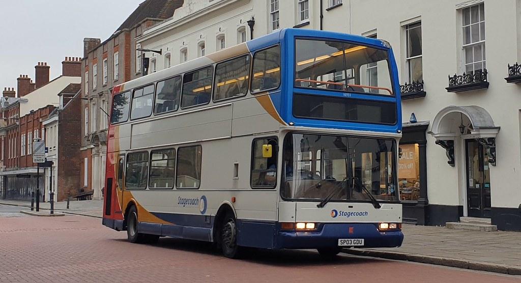 Stagecoach South 16931 (SP03 GDU) Chichester 26/9/21