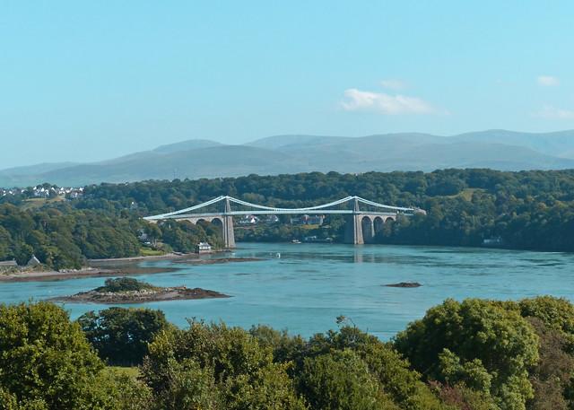 The Menai Bridges, North Wales