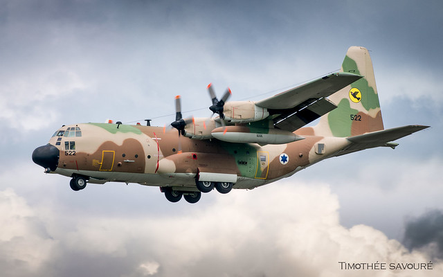 QOE   Israel Air Force Lockheed C-130H Hercules   522