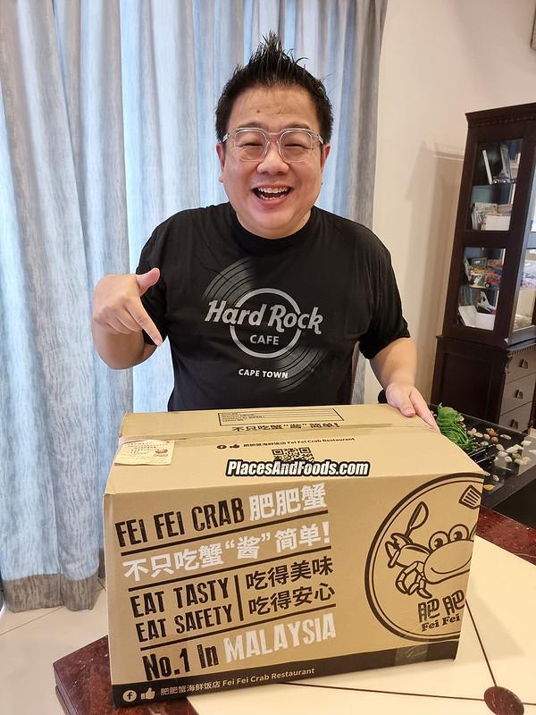 fei fei crab box