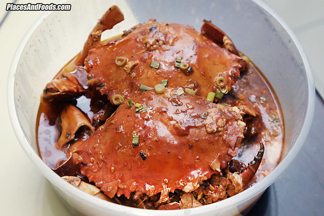 fei fei crab spicy sour crab