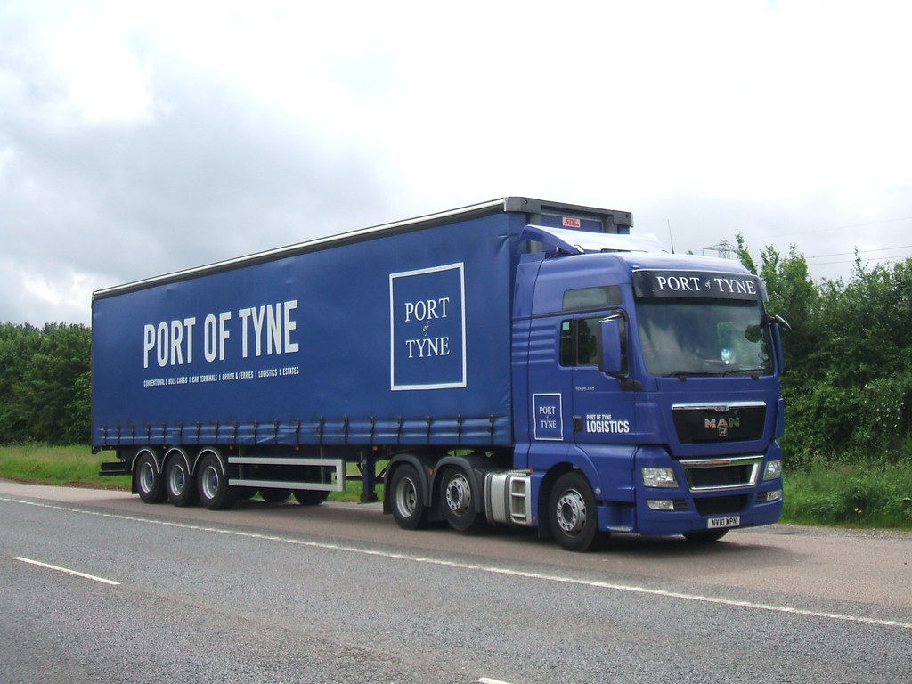 MAN TGX - Port of Tyne