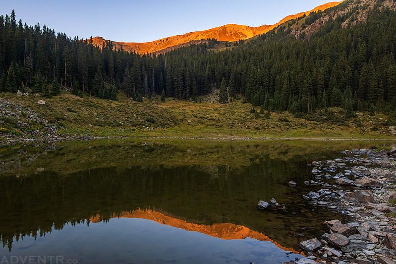Williams Lake Reflection