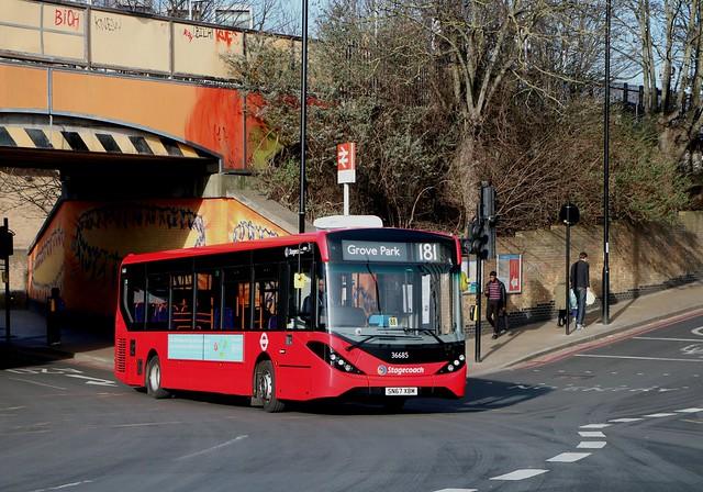 Stagecoach London - 36685 - SN67XBM