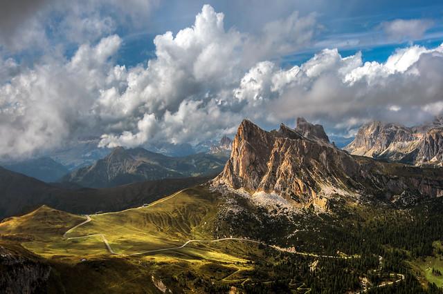 Into the Dolomites