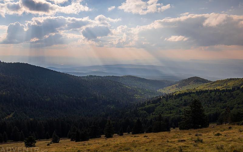 La Mosca Canyon Sunrays