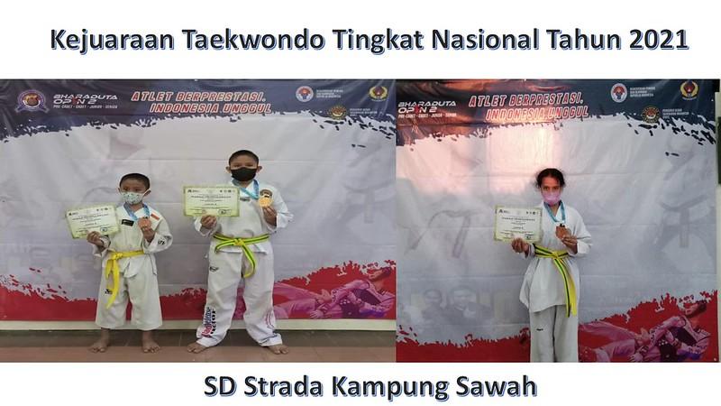 Kejuaraan Taekwondo Tingkat Nasional Tahun 2021