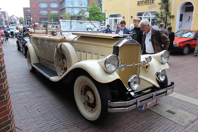 1931 Pierce Arrow Model 41 Dual Cowl Convertible Sedan