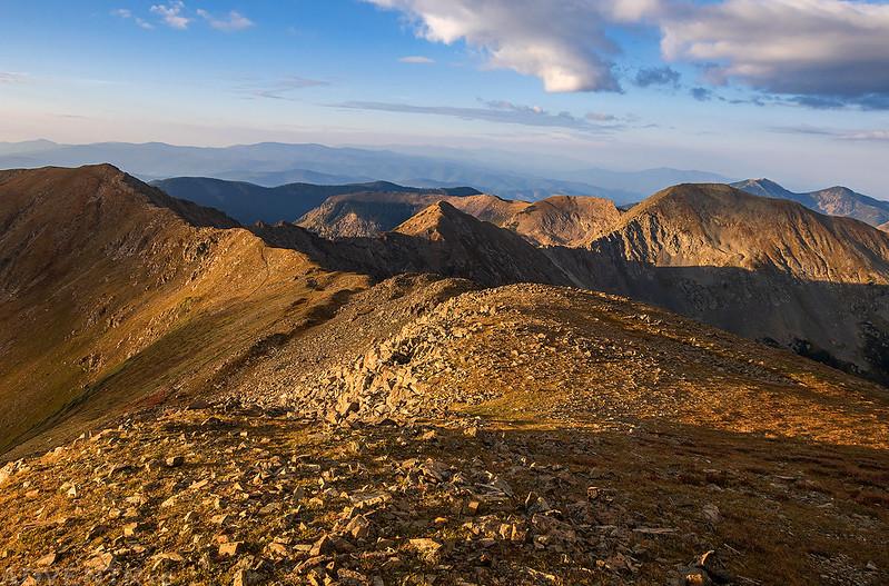 Descending From Wheeler Peak
