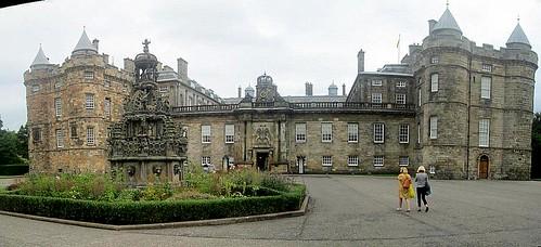 Fountain, Holyrood Palace stitch
