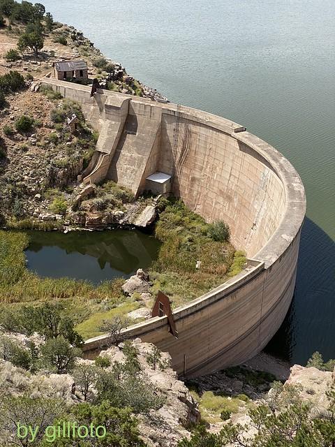 Bluewater Lake Dam