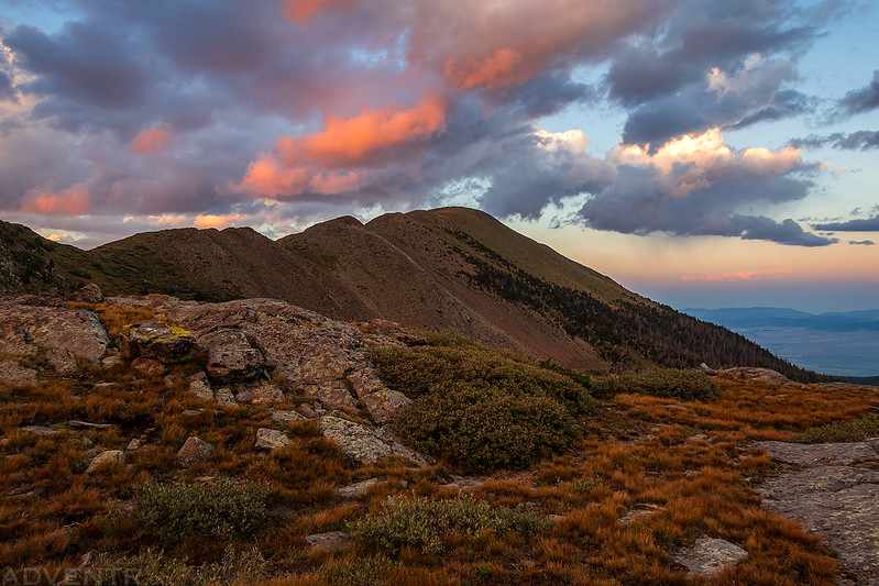 Horseshoe Basin Sunset