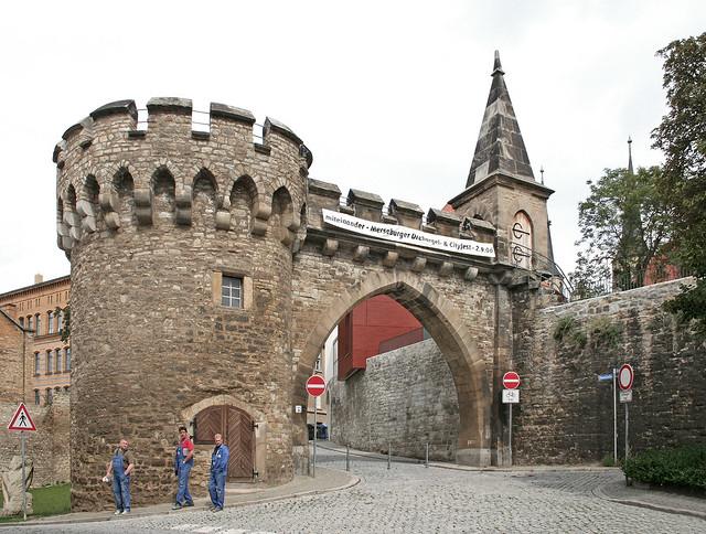 Merseburg - Krummes Tor