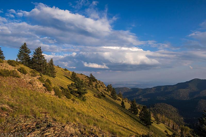 Edge of the San Mateo Mountains