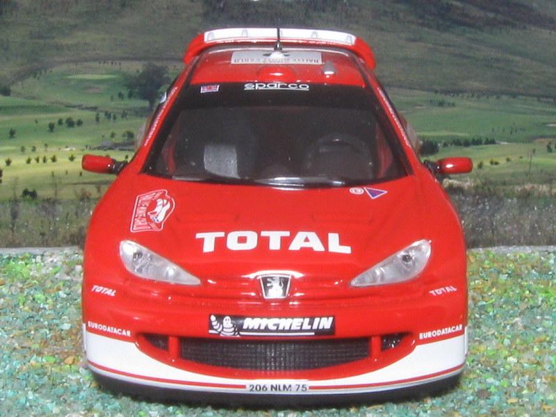 Peugeot 206 WRC – Montecarlo 2003