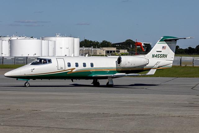 N455RH - Learjet 55 - KATL - Sept 2021