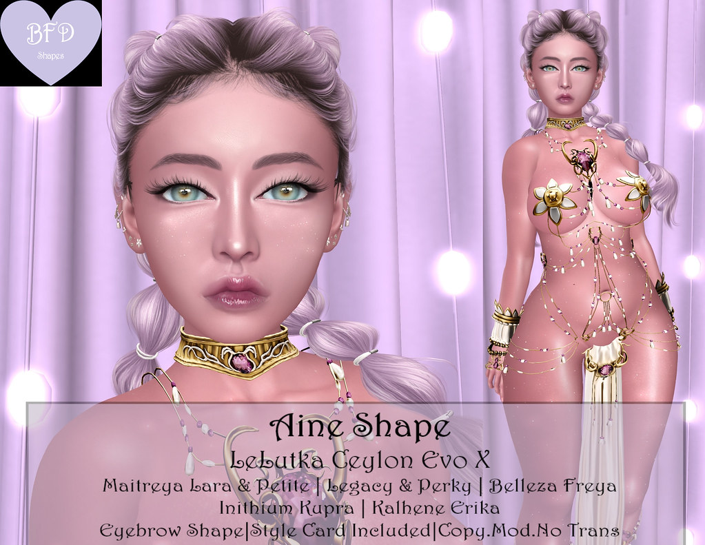 {BFD} Shapes – Aine Shape – LeLutka Ceylon ♥ New Release!! ♥