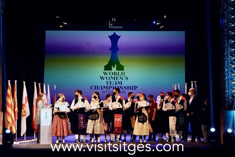 El Campeonato del mundo femenino de ajedrez arranca en Sitges con 12 delegaciones