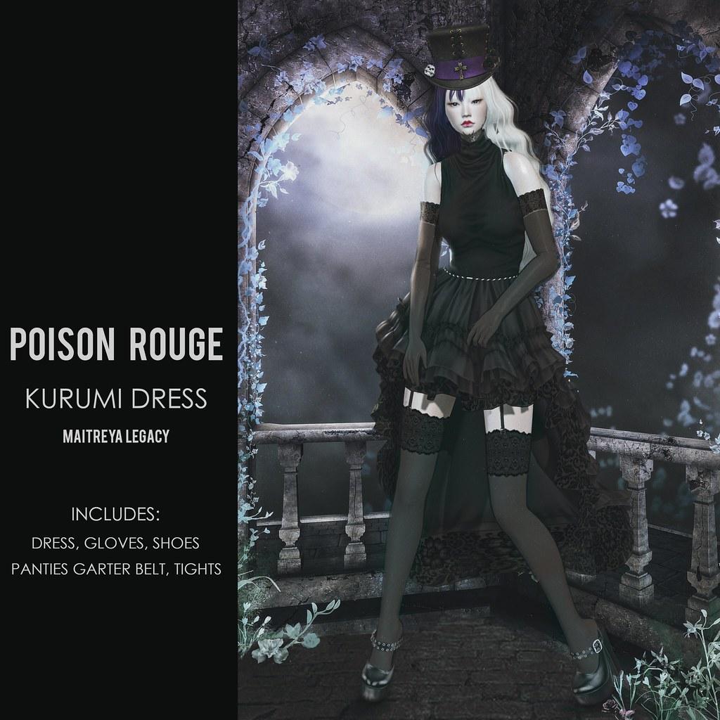 POISON ROUGE Kurumi Dress @NEO JAPAN