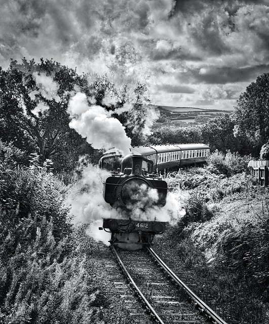 Bodmin & Wenford Railway Bodmin Cornwall 21st September 2021