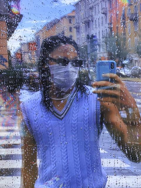Rainy day in Milano