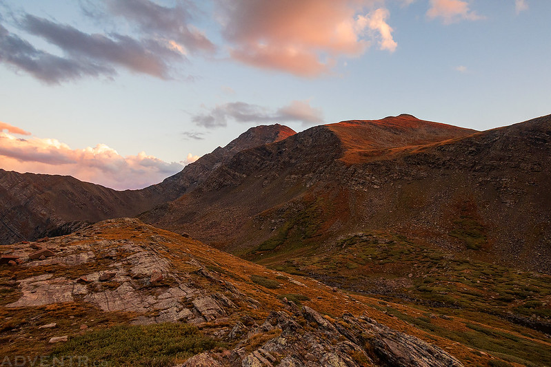 Eureka Mountain Sunset