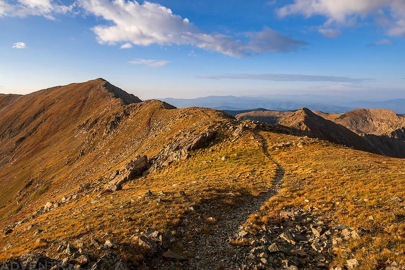 Trail To Simpson Peak