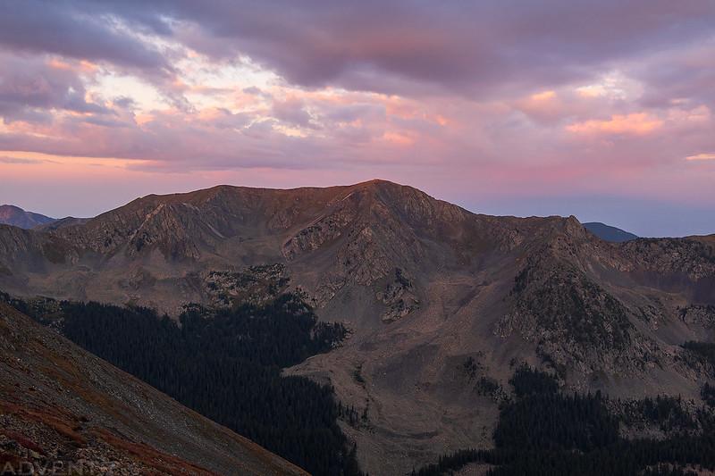 Lake Fork Peak Morning