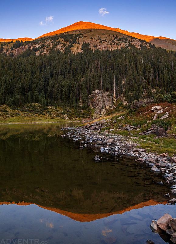 Wheeler Peak Reflection