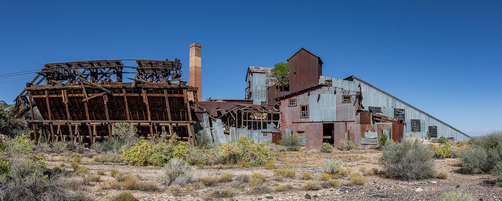 Pioche Mill, Side View
