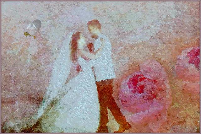 Dancing Bride and Goom