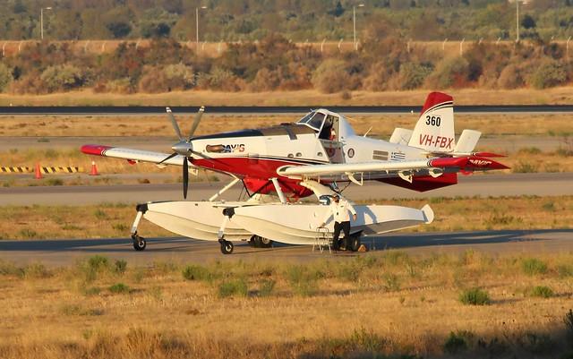 PAY S AIR SERVICE AIR TRACTOR AT-802A VH-FBX(cn802A-0591)