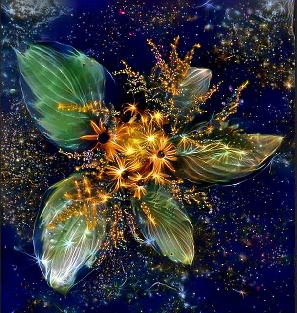 'Sunburst' floral arrangement