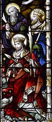 St Benedict, St Edward the Confessor and St Edmund (Hardman & Co, 1912)