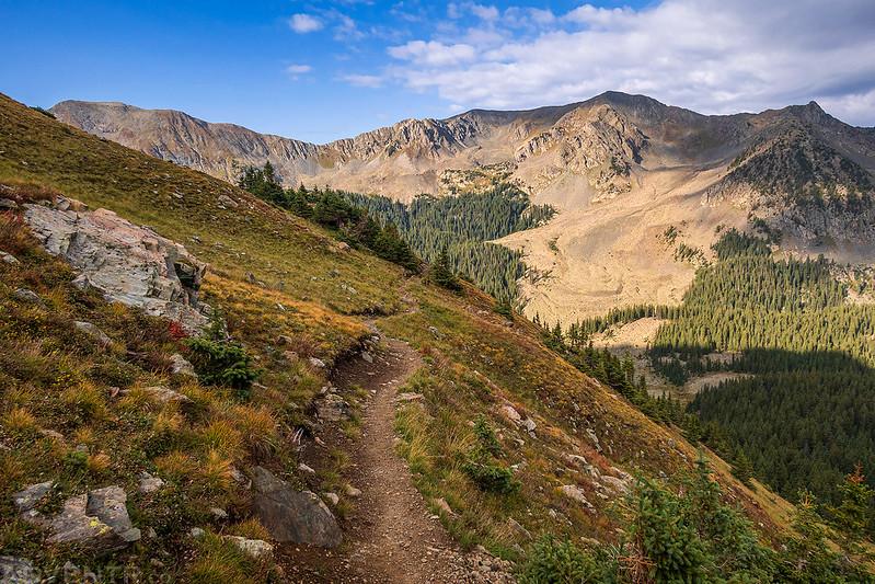 Descending the Wheeler Peak Trail