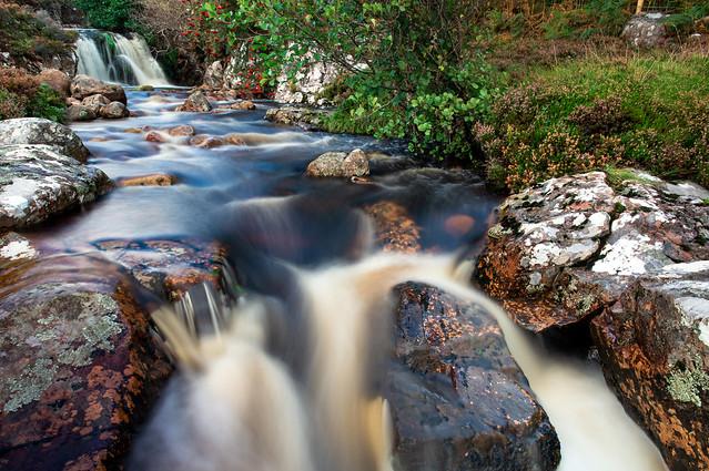 Waterfall, Acheninver, Ullapool, Scotland, UK
