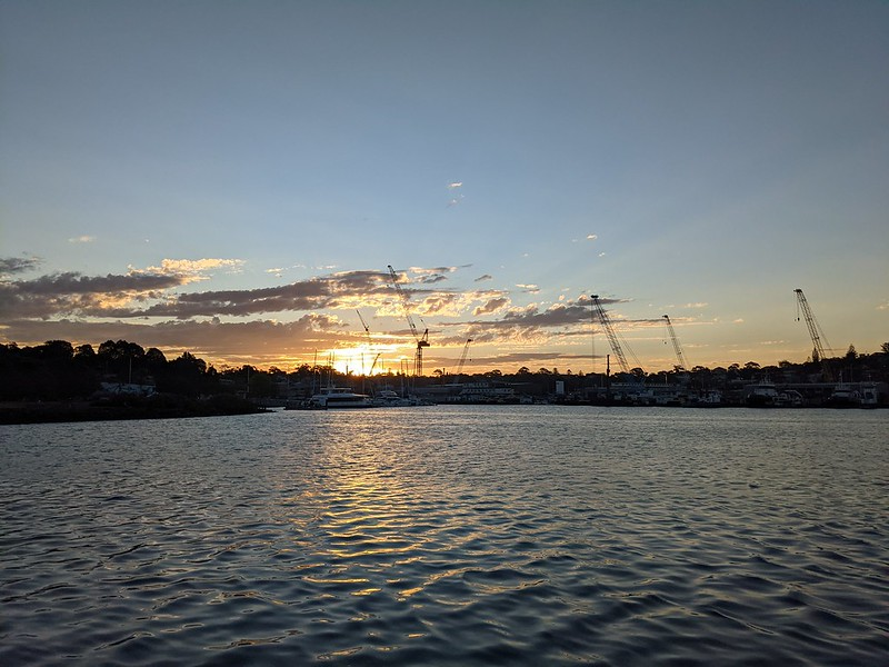 Sunset from Jubilee Park