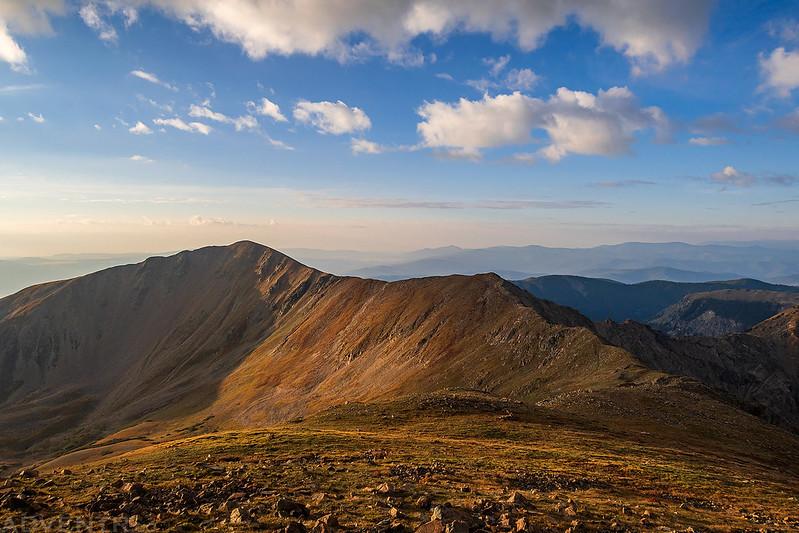 Old Mike Peak & Simpson Peak