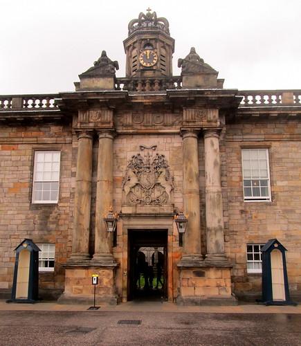 Entrance, Palace of Holyroodhouse, Edinburgh, Scotland