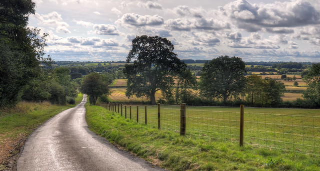 Countryside near Haselbech, Northants