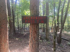 Jackrabbit Pass Trail Sign